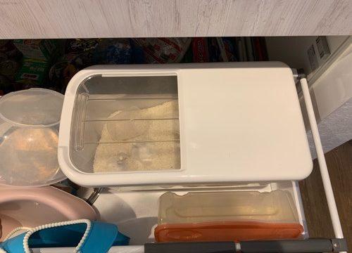 スライド式米びつ