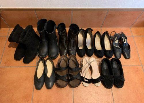 子育て中ミニマリスト思考で靴は10足