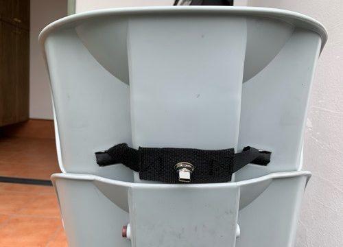 ノロッカ(norokka)の部品をビッケの後ろ座席につけた