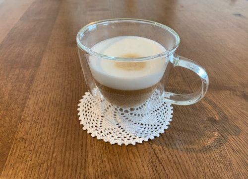 ネスプレッソで入れたコーヒー