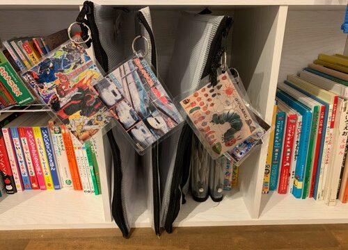 本棚に収納してもパズルの中身が一目でわかる収納